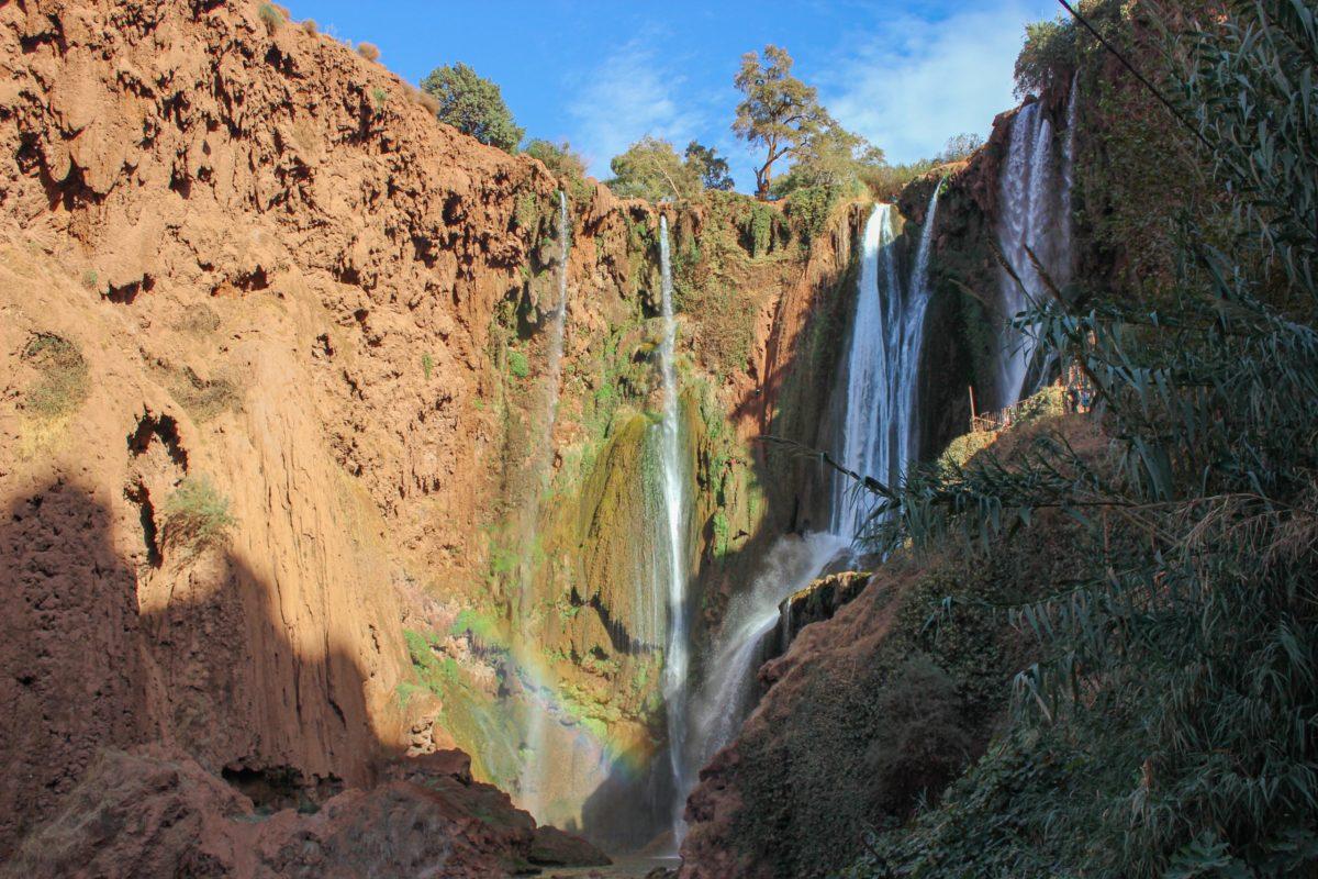 The Beautiful Ouzoud Waterfalls of Morocco